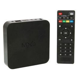 Оригинал Quad Core MXQ Smart TV Box для Android 4.4 Amlogic S805 Коди 14,2 Fully Loaded Media Player Обновить MX TV Box Бесплатная доставка DHL Самые