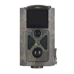 2 LCD120 grado rastro de la caza Cámara Trampa Solar Powered Cargador y remoto 1080P 12MP HD infrarrojos camuflaje Cámaras HC-100