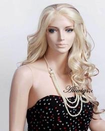 Long Sexy Mixed Color Lace Front Kanekalon Wigs