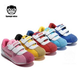 Wholesale good quality boys girls children shoes sneakers children sport shoes kids sport shoes color size