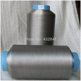 Wholesale U SILVER silver coated nylon filament fiber conductive fiber D