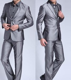 Discount Silver Red Tuxedos For Prom | 2017 Silver Red Tuxedos For ...