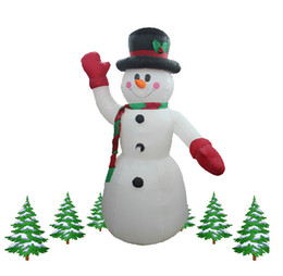 wholesale 24 meter inflatable snowman christmas decoration - Snowman Christmas Decorations