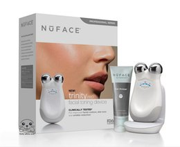 Wholesale Nuface Trinity Pro Facial Toning Device Kit White Brand New Sealed Face Massager Facial beauty