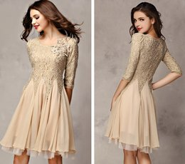 Wholesale 2014 new Slim was thin lace stitching big swing dress C3043