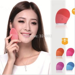 Wholesale 50pcs by DHL Skinray face care facial cleansing brush electric face vibration brush Spa Skin Care massage