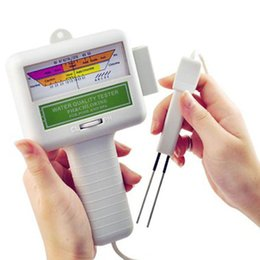 Wholesale 100 PH a estrenar de calidad SPA Agua Tester Agua medidor de nivel de cloro CL2 Tester para Piscina medidor de pH para Sunna H533