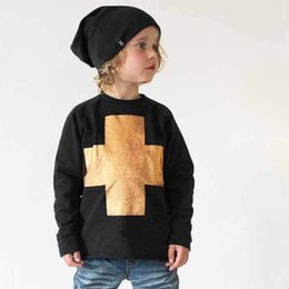 Wholesale 2015 fashion Boys T shirt Cross Kids Clothes Toddler Baby Clothing Children T shirts Kid Tops pieces