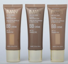 Wholesale New Brand iman Beauty Balm SPF15 Foundation Face Teintee ml Hours Moisturizing Makeup BB Cream Concealer Whitening Natural
