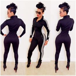 Long Sleeve Tight Black Jumpsuit Online | Long Sleeve Tight Black ...