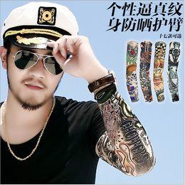 Wholesale Tattoo Sleeves Men Women Arm Sleeve Ideas Fashion Protection Sun Tatoo Mixed Designs Tattoo Designs