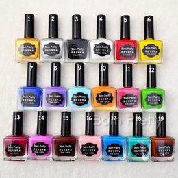 Wholesale 1 bottle ml Born Pretty Nail Art Stamping Polish Newly Sweet Style Nail Polish Candy Colors Nail Stamp Varnish