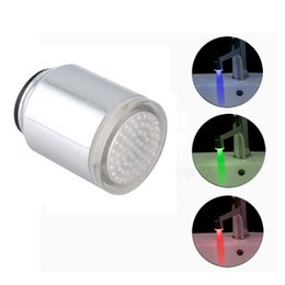 Automatic light sensor for bathroom my web value portable led water faucet light temperature sensor automatic red blue green 3 color for kitchen bathroom aloadofball Choice Image