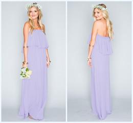 Discount Lilac Beach Wedding Guest Dress | 2017 Lilac ...