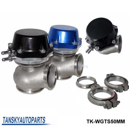 Tansky - High Quality PRO-GATE 50MM EXTERNAL WASTEGATE BLACK / BLUE Default color is Blue For Universal TK-WGTS50MM