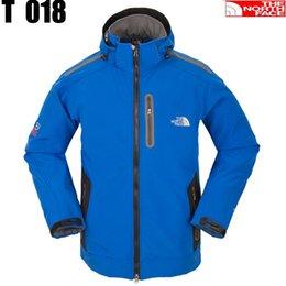 Wholesale Men s clothing sportwear outdoor camping hiking hunting jacket spring autumn fleece hoody jacket polartec outerwear coats
