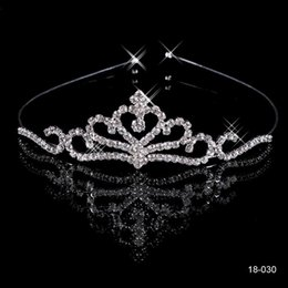Wholesale 2015 Cheap Crowns Popular Beautiful Hair Accessories Comb Crystals Rhinestone Bridal Wedding Tiara inch inch