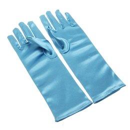 Wholesale 100pairs Frozen Elsa Long Gloves Mittens Children Girls Gloves for Evening Dress Girls Cosplay Gloves Guantes Kids Accessories