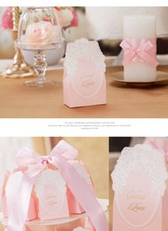Wholesale Elegant Candy Boxes For Wedding In Stock Beautiful Favor Holders Gift Boxes Candy Bag AH07