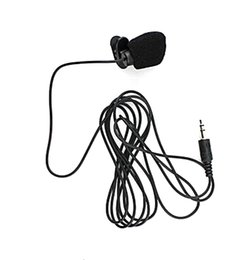 discount mini jack wiring 2017 mini jack wiring on at dhl 180cm cable mini clip on 3 5mm jack microphone hands for pc and comference whole