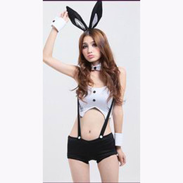 Wholesale Halloween PartyHot Sexy Female Pole Dancing Nightclub Clubwear Costume