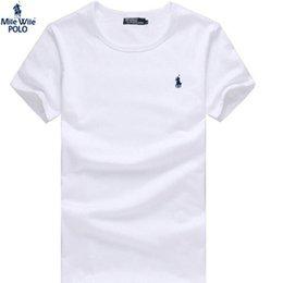 Wholesale The new men s polo shirt recreational sports round neck short sleeve cotton T shirt POLO shirt color X XXL