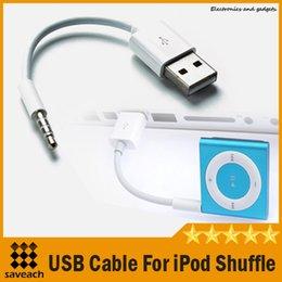 Оптовая Высокое качество зарядный кабель для Ipod Shuffle 3 5 6 линий данных зарядный USB 2.0 данных Бесплатная доставка