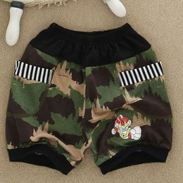 Wholesale Boys Shorts Kids Boy Shorts Pants Fashion Camouflage Cartoon Super Hero Kids Sports Shorts Baby Bloomers Boys Clothes