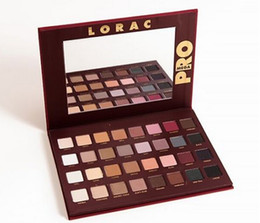 Wholesale Newest Mega LORAC PRO Color Eye Shadow Palette Blush Eyeshadow Makeup Cosmetic Palette