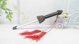 Entrenamiento de Artes Marciales Kung Fu Chino Extender Realizar Tai Chi Scalable Sword Taiji Magic Blade