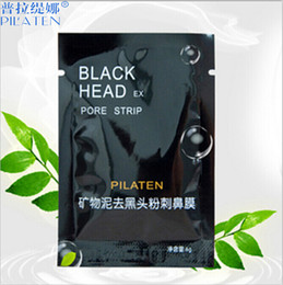 Wholesale PILATEN Suction Black Mask Face Care Mask Cleaning Tearing Style Pore Strip Deep Cleansing Nose Acne Blackhead Facial Mask Remove