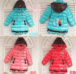 Wholesale children winter outwear girls frozen winter coat hoodie kids girl Elsa warm jackets coat clothing it