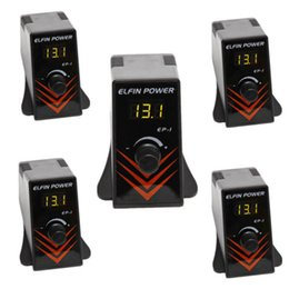 Wholesale 5pcs pro tattoo digital power supply kit LCD display black mini EP for machine