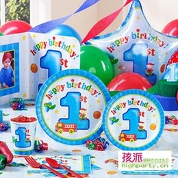 Wholesale Send white card baby boy gift ideas Party Supplies Child Birthday Supplies years old boy who advanced equipment