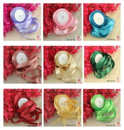 Wholesale 2CM Single Satin Ribbon For Wedding Craft Gift About Meters Cheap In Stock