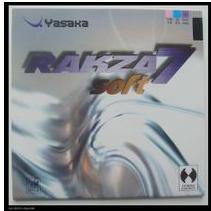 Yasaka suave 7 de alta calidad de tenis de mesa de caucho Ping Pong de goma para la lámina / Bat / placa de base