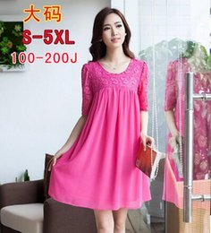 Wholesale S M L XL XXL XXXL XXXXL XL High grade floss knead plait grows pregnant women dress Maternity Dresses