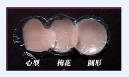 Wholesale Hot pairsr Silicone Nipple Cover Bra Pad Patch Breast Shaper Skin Nude Adhesive Round