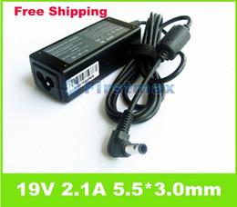 Gros-op-1pcs Livraison gratuite 19V 2.1A 40W 5.5 * 3.0mm AC Power Adapter Chargeur pour Samsung N110 N120 N130 NC10 AD-4019S PA-1400-1414