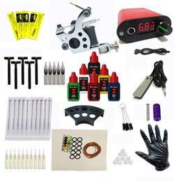 Wholesale BJT cheap tattoo kit beginners tattoo machinekit Tattoo gun kit complete tattoo kit tattoo power supply needle inks