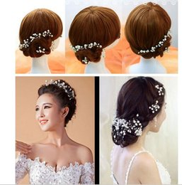 Wholesale 10PCS New Arrival Wedding Bridal Accessory Jewelry For Women Pearl Hair Pins Hair Clips Bridesmaid Jewelry