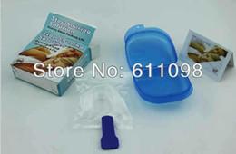 Wholesale Stop Snoring Device Anti Stop Snore Kit Anti Snore and Apnea Device quiet sleep eu and us very hot sellingmn2