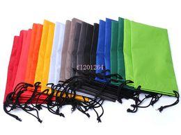 Wholesale Durable waterproof Dustproof plastic sunglasses pouch soft eyeglasses bag glasses case Eyewear Accessories