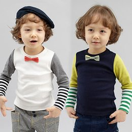 Wholesale 2015 New Arrival Boys Tshirt Baby Boy Clothes Boys Clothing Kids Clothes Gentleman Children Clothing Outwear Baby Boy Tshirt Baby Clothes