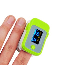 Wholesale greenNEW Fingertip OLED Display Pulse Oximeter with Audio Alarm Pulse Sound ROSE Spo2 Monitor