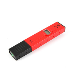 Wholesale High Sensitive Digital LCD Pocket Pen Aquarium Pool Water PH Test Meter Measure Tester