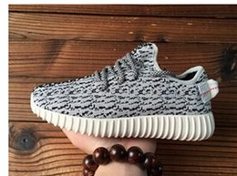 Wholesale YEY New Brand Men s Women s Shoes YEEZY boosts Breathable Shoes