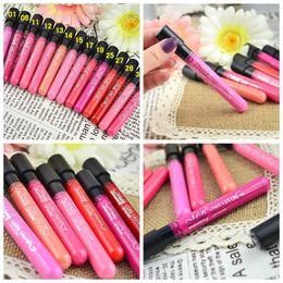 Wholesale 40SET Durable Makeup cup lipstick non stick cup Lip Gloss Colors MENOW M N Meinuo lip gloss velvet matte Waterproof