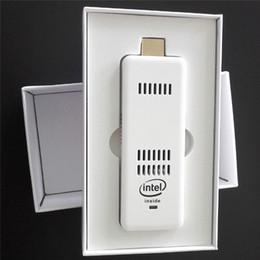 Новый мини ПК Intel для Windows 10 / 8.1 ОС мини-компьютер ПК ручка HDMI Wi-Fi Bluetooth Вычислить Придерживайтесь Карманный портативный ПК 2GB / 32GB