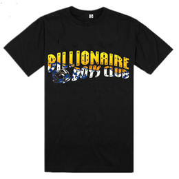 Wholesale BILLIONAIRE BOYS CLUB T Shirt BBC T Shirts Men Hip Hop Cotton tshirt O Neck billionaire Man Tops Shirt Euro Size